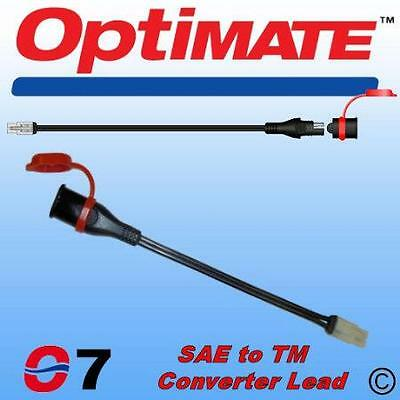 Optimate Sae77 Converter Lead For New Optimate Battery Chargers