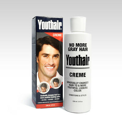 Youthair Hair Conditioner Restore Natural Color Gradually Creme 8oz