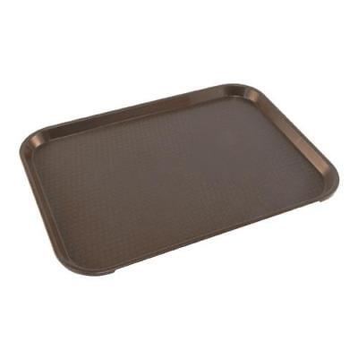 Cambro - 1216FF167 - 12 in x 16 in Brown Fast Food Tray Restaurant Cafeteria