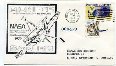 1979 Pioneer First Spacecraft Saturn NASA Ames Research Center Moffet Field USA