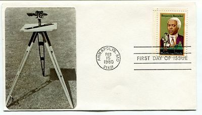 1980 Annapolis MD First Day Issue Benjamin Banneker SPACE NASA USA