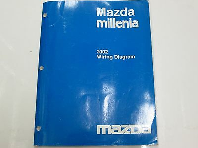 2002 Mazda Millenia Electrical Wiring Diagram Manual FACTORY electrical wiring diagram for 2002 mazda millenia \u2022 wiring diagram