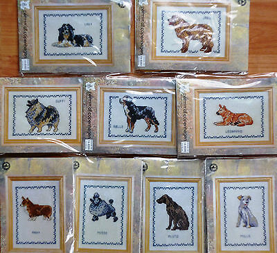 Permin of Copenhagen Counted Cross Stitch Kit - Dog, Various Breeds