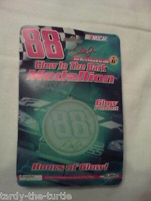 Dale Earnhardt  Jr. Glow in the Dark Medallion