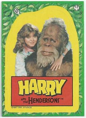 Harry And The Hendersons - Sticker 12