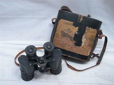 Vintage Hunalex Paris Air Force Binoculars WWII era 12 X 43