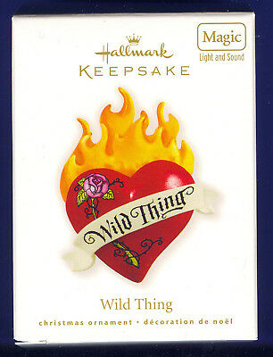 Hallmark 2010 Wild Thing Magic  Performed by the Troggs
