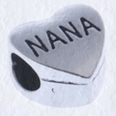 Quantity Options BFS4251 Best Nana Ever Stainless Steel Charms