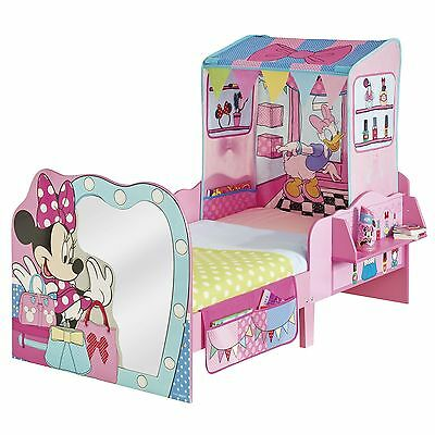 Minnie Mouse 'startime' Junior Toddler Feature Bed New