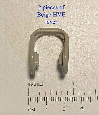 Dental HVE High Volume Evacuator Valve Lever - (Levers only) Beige  Qty 2 pieces