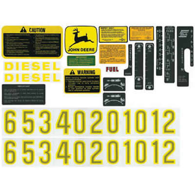 Decal Set John Deere 2510 4620 4010 3010 3020 4520 4000 4020 6030 4320 2520