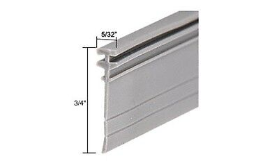 "CRL Gray Shower Door Vinyl ""T"" Seal and Sweep - 36 in long"