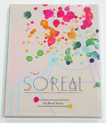 SoReal - So Real Story (1st Mini Album) CD+32p Photobook