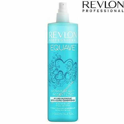 Revlon Equave Hydro Nutritive Detangling Leave-in De-Tangle Conditioner 500ml