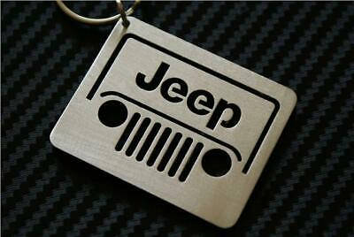 Chrysler JEEP FRONT WILLYS KEYRING KEYCHAIN CLASSIC