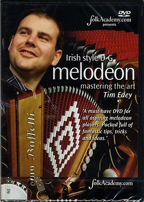 Irish Style D-G Melodeon Mastering the Art DVD Learn How to Play Method Tim Edey