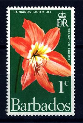 BARBADOS - 1970 - Fiori Nativi: Barbados Easter lily