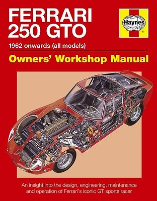 Ferrari 250 GTO 250GTO Haynes Manual H5384 NEW