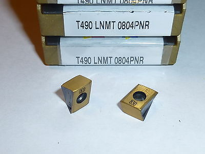 T490 Lnmt 0804Pnr Ic830 Iscar *** 10 Inserts *** Factory Pack ***