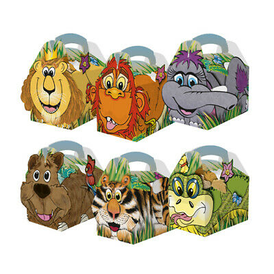 250 Jungle Children's Kids Birthday Party Box Bag Loot Favour
