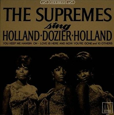 SUPREMES, THE-SING HOLLAND DOZIER HOLLAND CD NEW