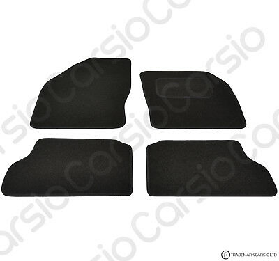 Ford Focus MK2 2005 - 2011 Tailored Black Car Floor Mats Carpets 4 Piece Set