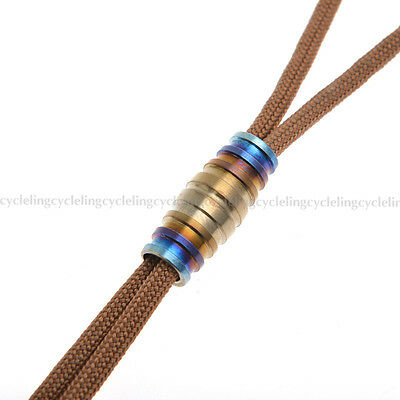 ROCKBROS Titanium Ti Bead Pendant for EDC Key Chain Knife Cord Zipper Pull