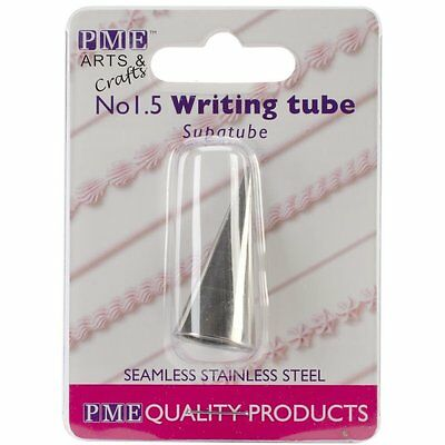 PME #1.5 Writer Tube Stainless Steel Icing Fondant Piping Decorating Nozzle Tip
