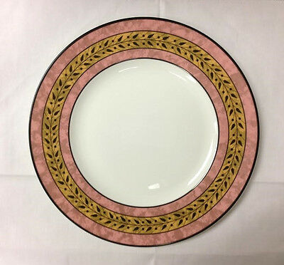 """Wedgwood """"sparta"""" Dinner Plate 10 3/4"""" Bone China Made In England"""