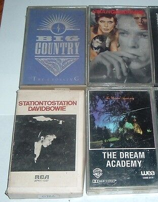 LOT OF 4 CASSETTES TAPES - you pick your titles - rock - pop - jazz and more