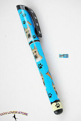 Great Dane Dog Pen Replaceable Ballpoint Black Ink Fawn