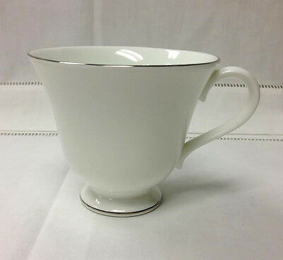 """Wedgwood """"signet Platinum """" Teacup Only Bone China Brand New Made In England"""