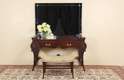 Regency 1940 Vintage Dressing Table / Vanity Desk