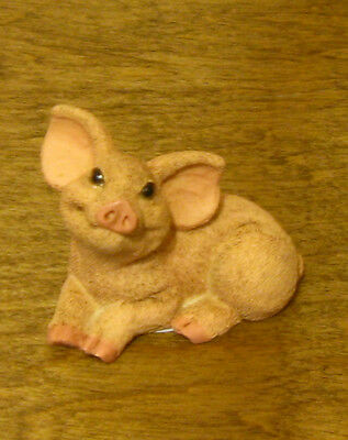 Castagna Mini Animal Figurines #429 PIG, Made in Italy, NEW from our Retail Shop