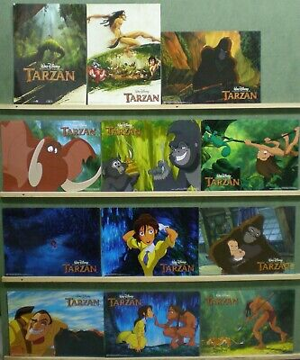 TN20 TARZAN WALT DISNEY Lobby Set Spain