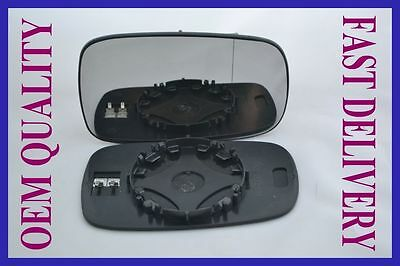 RENAULT MEGANE mk2 2002-2008  DOOR WING MIRROR GLASS ASPHERIC HEATED RIGHT H/S