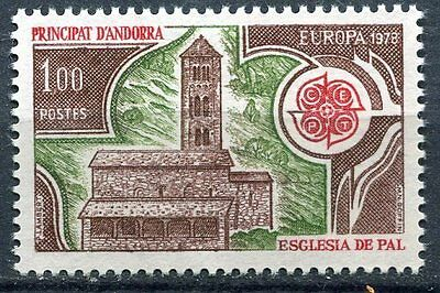 Timbre Andorre France Neuf  N° 269  * Europa Eglise De Pal