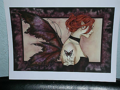 Amy Brown - Butterfly Tattoo II - OUT OF PRINT - SIGNED