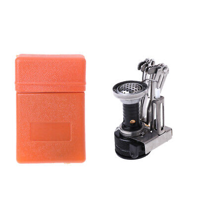 Mini New Steel Stove Case Portable Outdoor Picnic Gas Burner Foldable Camping