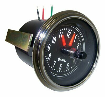 Quartz Dash Clock Fits: Jeep CJ5 CJ7 CJ8 1976-1986 Laredo Crown J5761330