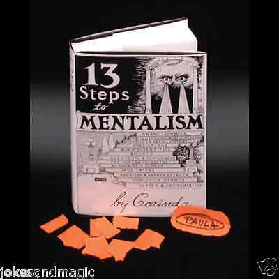 13 Steps To Mentalism Encyclopedia Book By Corinda Professional Magician Prop