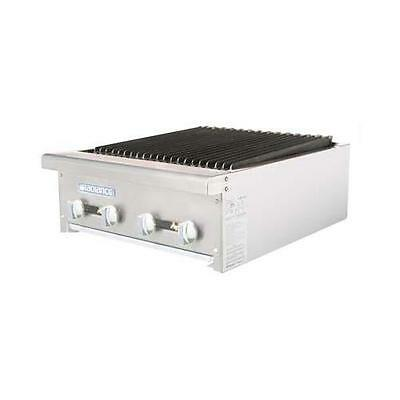 """Turbo Air TARB-24 Radiance 24"""" Gas Char Broiler Grill"""