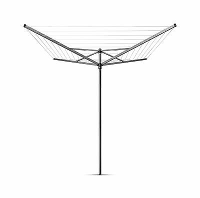 Brabantia Outdoor Top Spinner Rotary Airer 4 Arm Washing Line 40M
