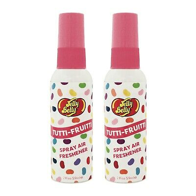 Jelly Belly Bean Sweet SPRAY Air Freshener Car Home Fragrance Scent TUTTI FRUITY