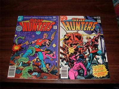 Star Hunters 1-7 complete run of 7 comic books