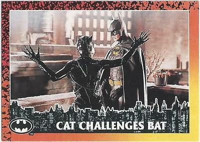 Batman Returns - Card 43 - Cat Challenges Bat