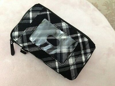 Defective Thirty one organizer Every day pouch wallet black pick me plaid 31 new