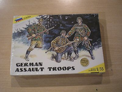 GERMAN ASSAULT TROOPS - Zvezda - 1/35 Scale