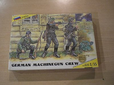 GERMAN GERMAN MACHINEGUN CREW - Zvezda - 1/35 Scale