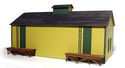 Branchline Laser Art Building Kit S Scale Icehouse  #581 Bob The Train Guy